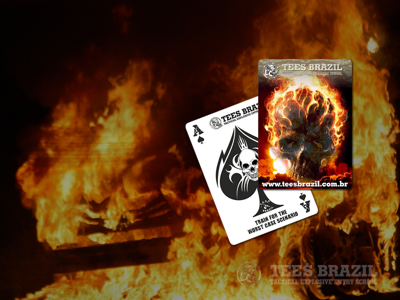 Fundo de tela TEES Death Card - modelo 1
